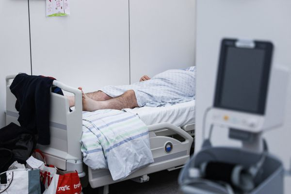 Dans un hôpital belge, le 9 novembre.