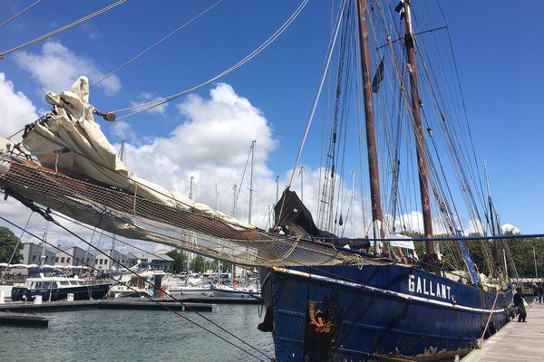Le Gallant, ancien harenguier hollandais, navigue plus de 300 jours par an