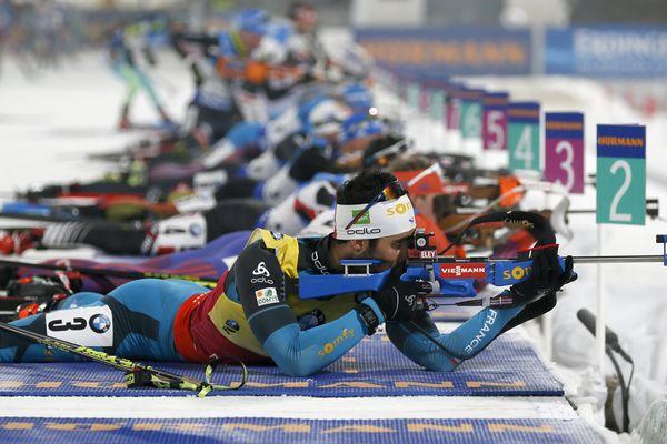 La France gagne le relais à Pyeongchang avec le Catalan Martin Fourcade - 4 mars 2017