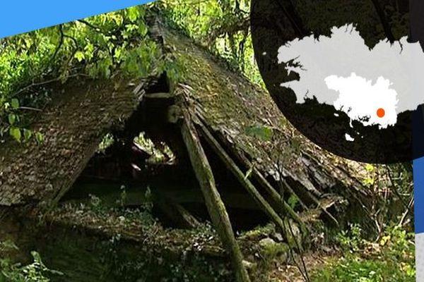 Cachés dans la forêt, les vestiges du temps des mines à Glénac