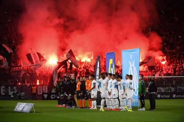 Mercredi soir, Angers recevait l'OM (0-0).