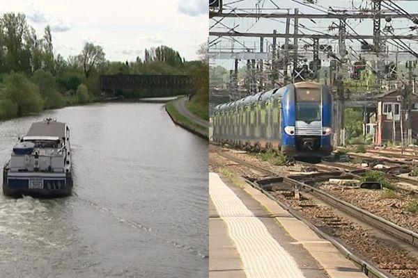 Canal Seine Nord Europe et Barreau Creil Roissy, deux projets attendus depuis des décennies dans la région.