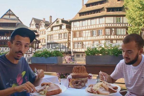Bigflo et Oli ont tourné leur dernier clip à Strasbourg.
