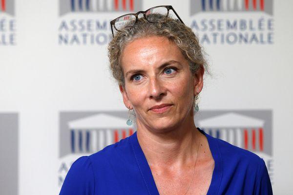 Delphine Batho, députée des Deux-Sèvres et candidate au poste de premier secrétaire du PS (juin 2017)