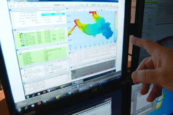 Les recherches on été effectuées dans un périmètre de 30 à 50 kilomètres aux larges des côtes.