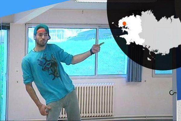 Martin Raoul danseur professionnel mais aussi étudiant en STAPS à l'UBO