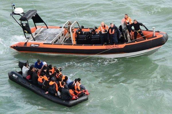 Près de 700 migrants ont été interceptés par les autorités françaises depuis le 1er janvier.