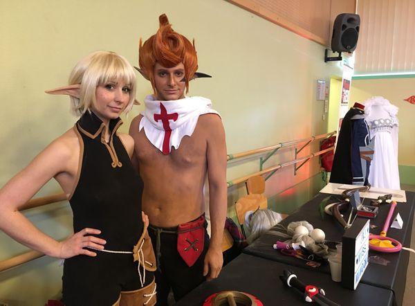 Evangeline et Tristapin, des personnages de la série Wakfu