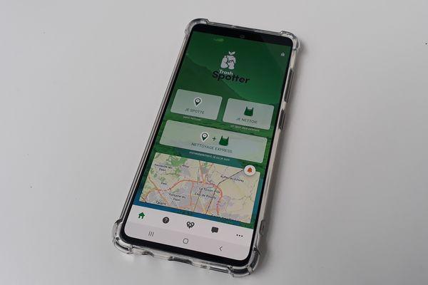 L'application Trash Spotter permet une collaboration entre usagers.
