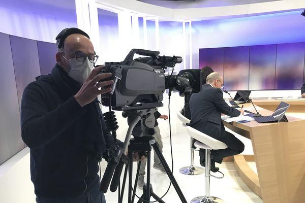 Les mesures de précautions prises lors de la soirée électorale à France 3 Côte d'Azur