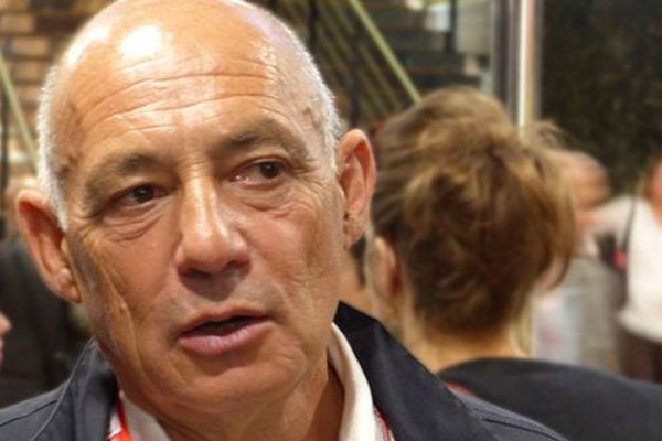 Pascal Maitre à Visa pour l'image le 3 septembre 2015