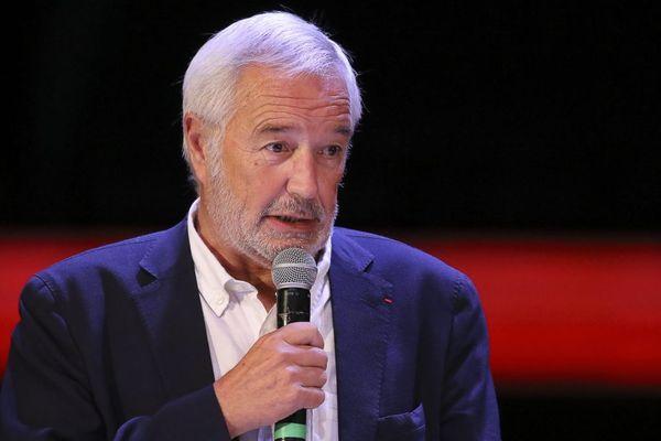 François Rebsamen, maire de Dijon et président de Dijon métropole, le 16 septembre 2019.