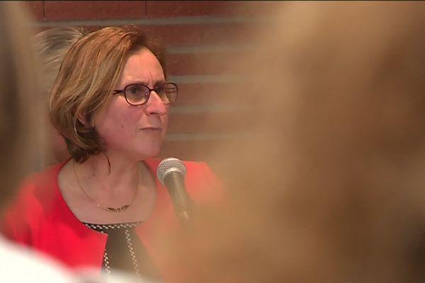 Hermeline Malherbe, présidente du conseil départemental des P.O.