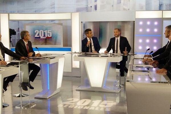 Débat du premier tour des élections régionales - 2 décembre 2015