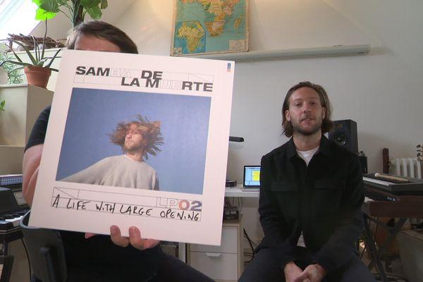 Adrien Leprêtre, aka Samba De La Muerte, a reçu l'équipe de Là Où Ca Bouge dans son studio caennais avant la sortie de son deuxième album