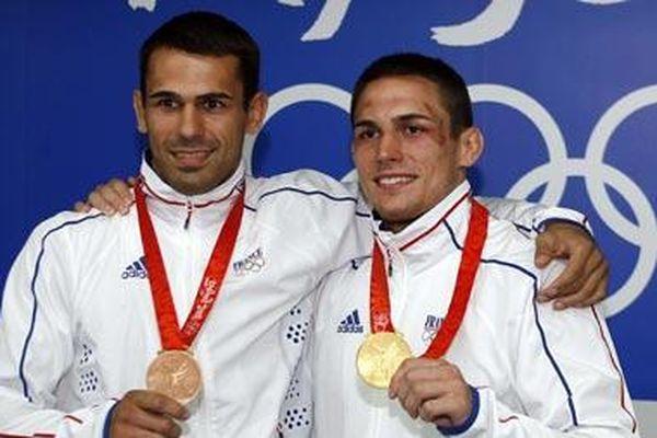 Les frères Guénot, steve et Christophe, tous deux sélectionnés pour les JO 2012