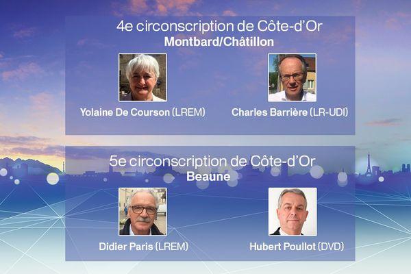 France 3 Bourgogne organise deux débats mercredi 14 juin 2017 dans le cadre du  2e tour des élections législatives