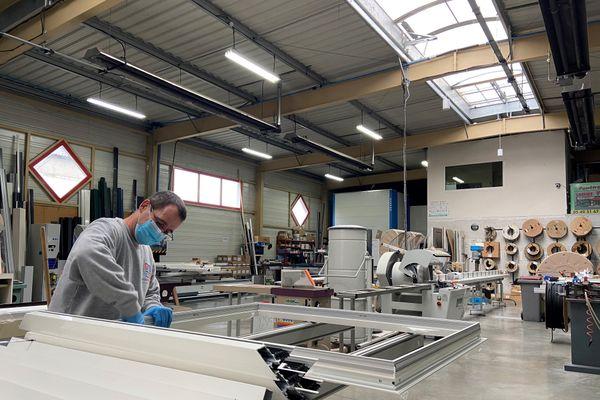 Cette entreprise de fabrication de véranda a bénéficié d'un boom de la demande post-confinement, mais redoute une deuxième vague