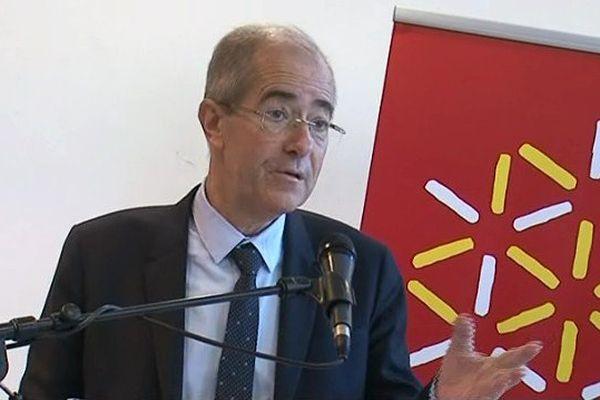 Christian Bourquin président (PS) de la région Languedoc-Roussillon - 24 janvier 2014
