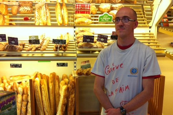 Tony Gillotin, boulanger.