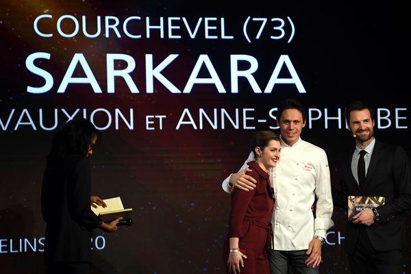 Sébastien Vauxion, chef pâtissier au Sarkara, a obtenu sa deuxième étoile Michelin ce lundi.