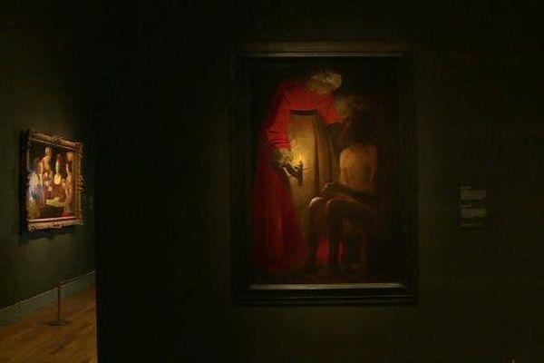"""""""Job raillé par sa femme"""" a quitté Epinal pour le musée du Prado de Madrid (Espagne), jusqu'en juin 2016."""