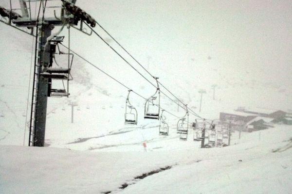 Fortes chutes de neige sur les Pyrénées