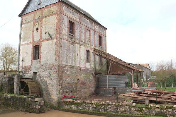 Le Moulin de l'Arbalète à Saint-Maclou de Folleville (Seine-Maritime)