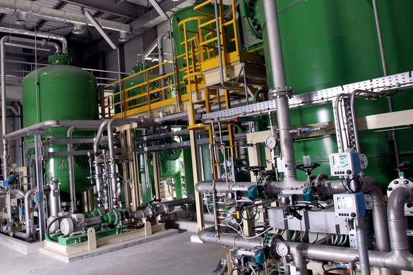 L'intérieur d'une centrale cycle-combiné gaz en Lorraine