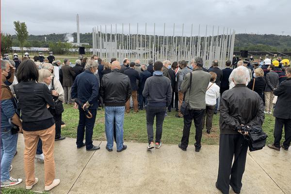Toulouse (Haute-Garonne) a commémoré les 20 ans de l'explosion mortelle de l'usine AZF, du 21 septembre 2001.