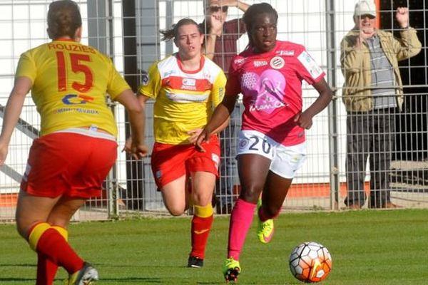 Viviane Asseyi est la 6ème joueuse de Montpellier à être appelée en Equipe de France féminine de football, un record - 20 octobre 2015