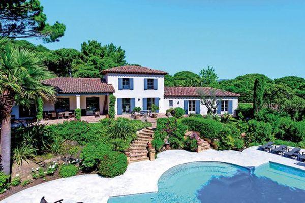 L'ancienne villa de George Michael à Saint-Tropez est actuellement en vente.