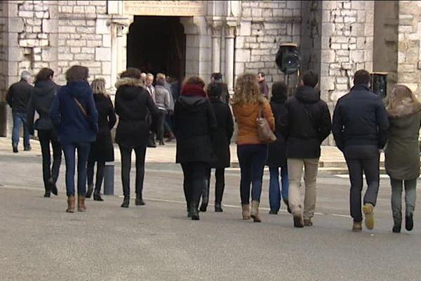 Obsèques des jeunes victimes de l'accident de car de Montflovin