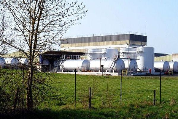 Le site d'Aprochim à Grez-en-Bouère (Mayenne)