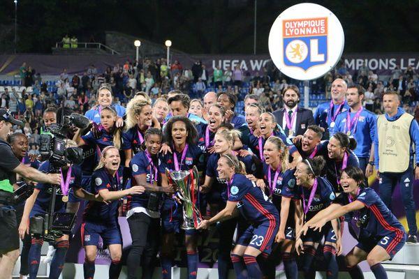 24 mai 2018 : l'Olympique Lyonnais Féminin remporte sa 5ème Ligue des Champions, la 3ème d'affilée