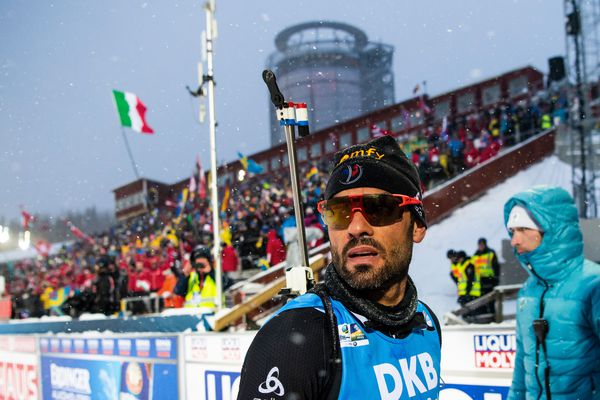 Mondiaux de biathlon: Fourcade plombe le relais, doublé de la Norvège