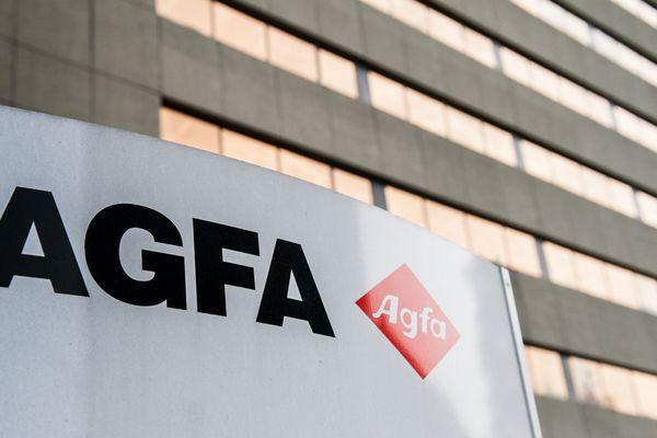 Le logo du groupe Agfa