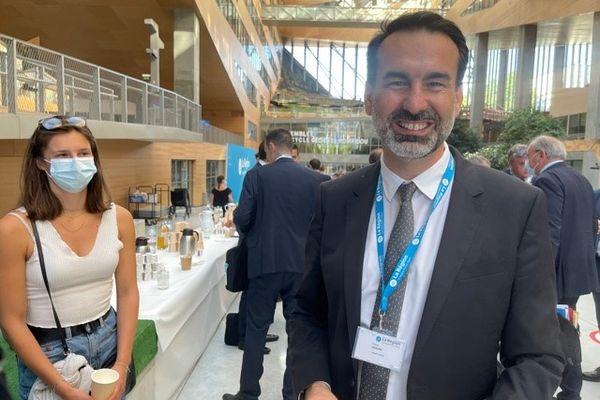 Le maire (LR) de Vichy Frédéric Aguilera fait partie des nouveaux conseillers régionaux