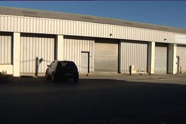 L'entrepôt où la tonne de cocaïne était stockée à Bayonne