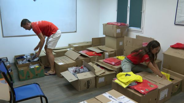 Les cartons sont prêts mais le Centre de formation des sauveteurs n'a nulle part où aller. Il faut quitter le site devenu insalubre.