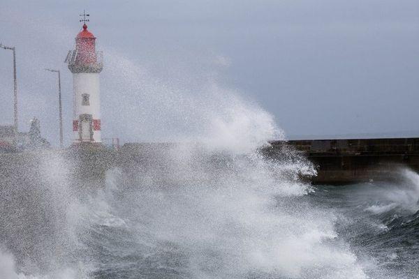 Le vent a soufflé jusqu'à 110 km/h à Groix.
