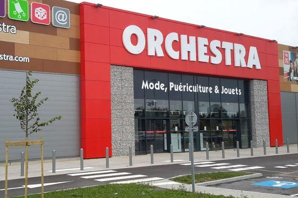 Un magasin Orchestra à Calais