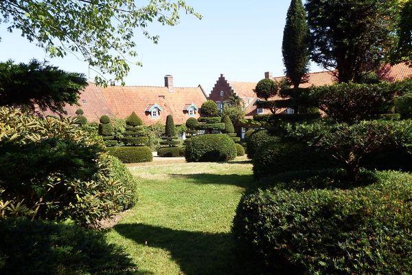 Le jardin du Mont des Recollets à Cassel