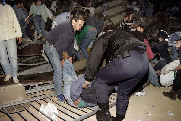 Stade de Furiani, le 5 mai 1992.