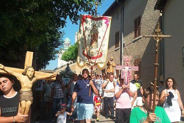 Le traditionnel défilé- Le 21 juillet 2013