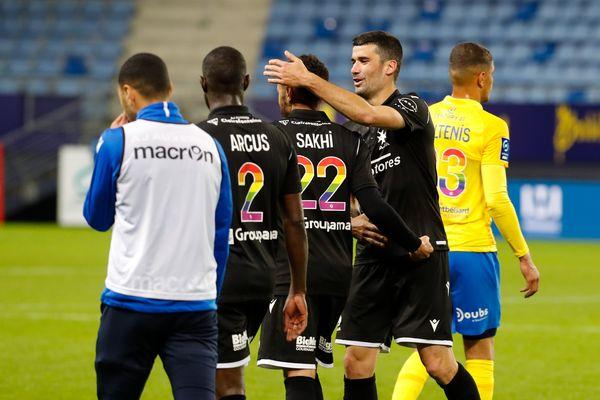 Auxerre termine sixième avec 62 points.
