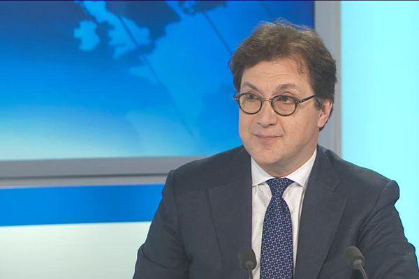 Serge Dorny, directeur de l'Opéra de Lyon à France 3 Rhône-Alpes le 3 mai dernier