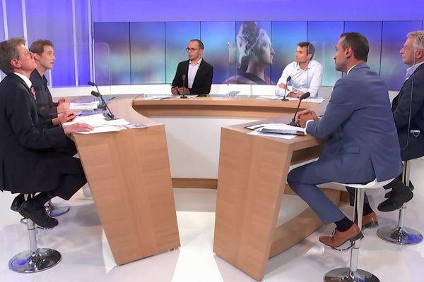 Débat du 1er tour des Départementales 2021 en Savoie