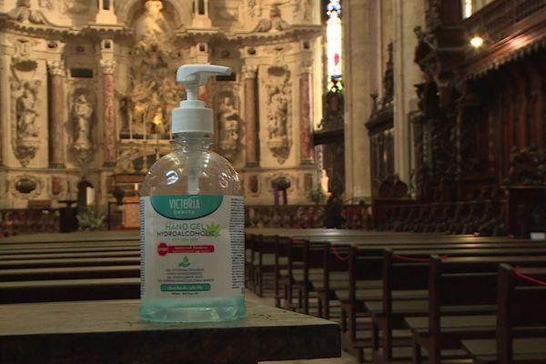Covid et messes de Noël, la cathédrale Saint-Etienne accueillera les fidèles selon un protocole sanitaire strict.