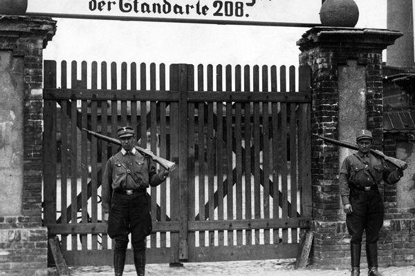 Camp de concentration de Sachsenhausen en 1938